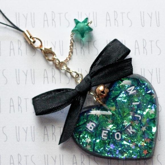 323bb5c5 UYU ARTS Accessories   Seokjin Charm Handmade Kpop Custom Bts   Poshmark